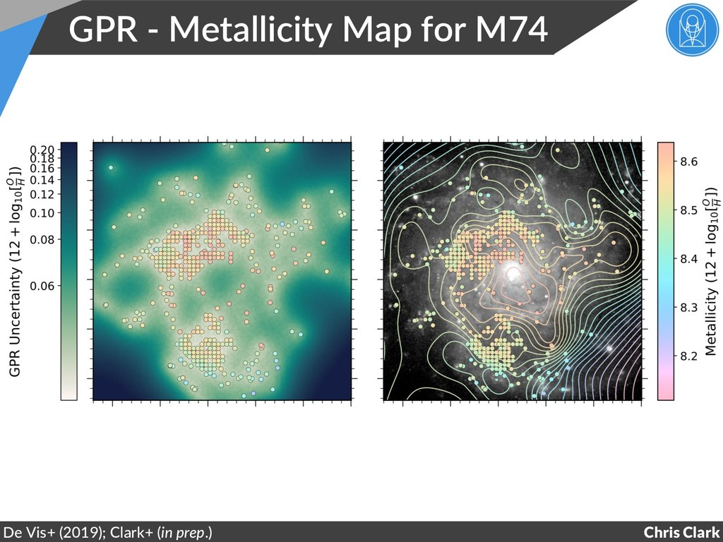 GPR - Metallicity Map for M74 Chris Clark De Vi...