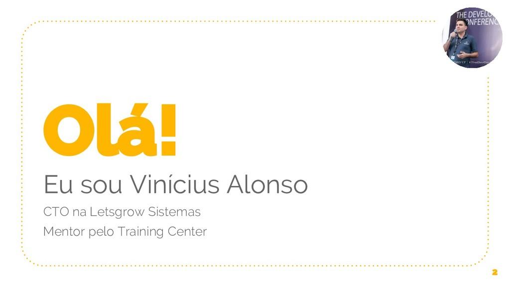 Olá! Eu sou Vinícius Alonso CTO na Letsgrow Sis...