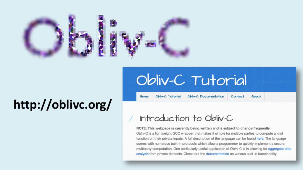 http://oblivc.org/