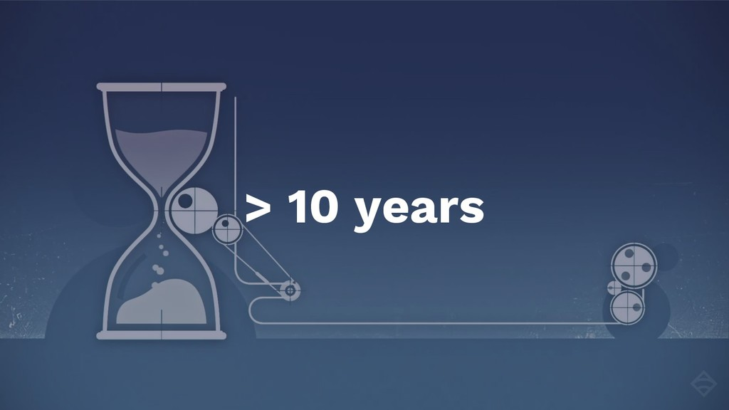 > 10 years