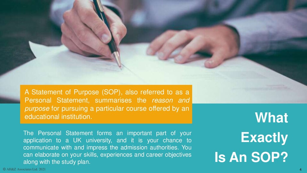 A Statement of Purpose (SOP), also referred to ...