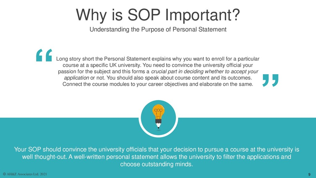 Why is SOP Important? Understanding the Purpose...