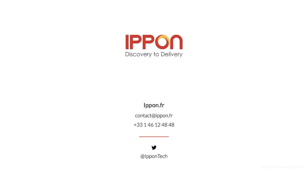 Ippon Technologies 2017 Ippon.fr