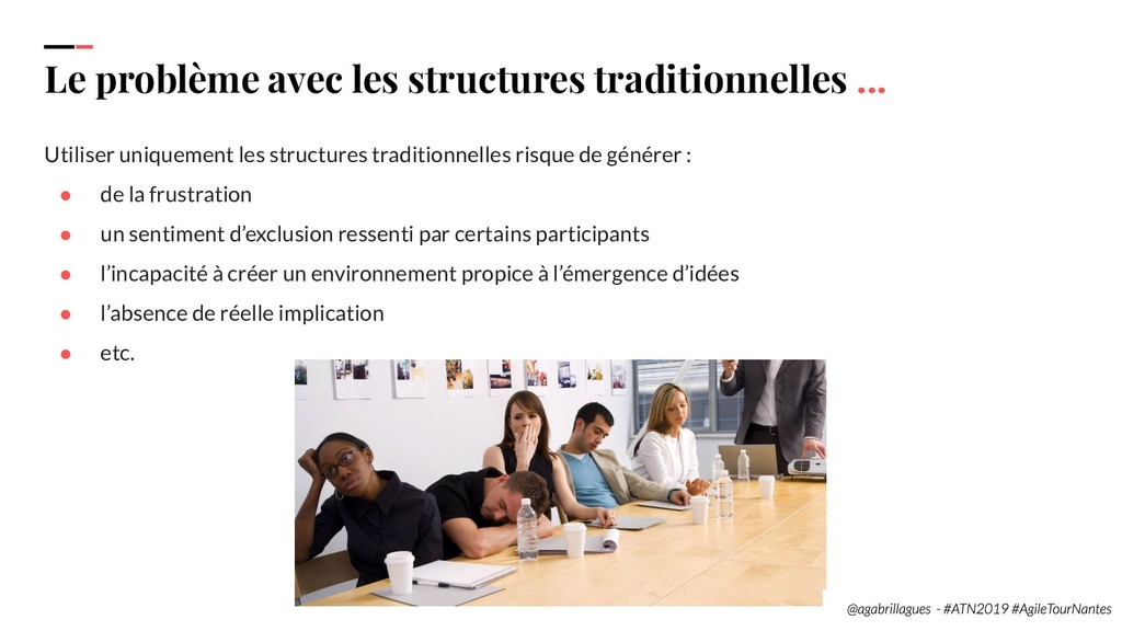 24. Le problème avec les structures traditionne...