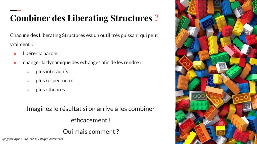 98. Combiner des Liberating Structures ? Chacun...