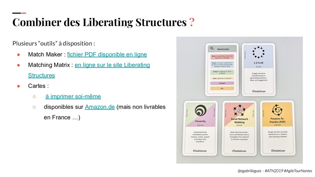 99. Combiner des Liberating Structures ? Plusie...