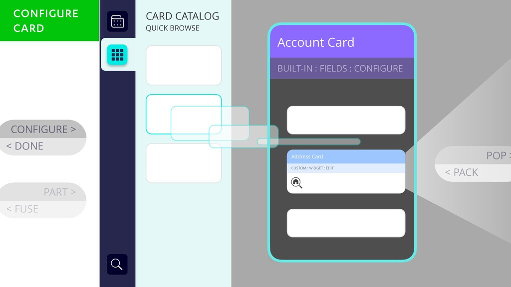 Account Card BUILT-IN : FIELDS : CONFIGURE CONF...
