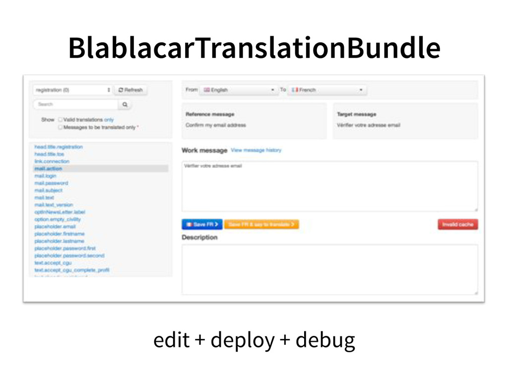 BlablacarTranslationBundle edit + deploy + debug