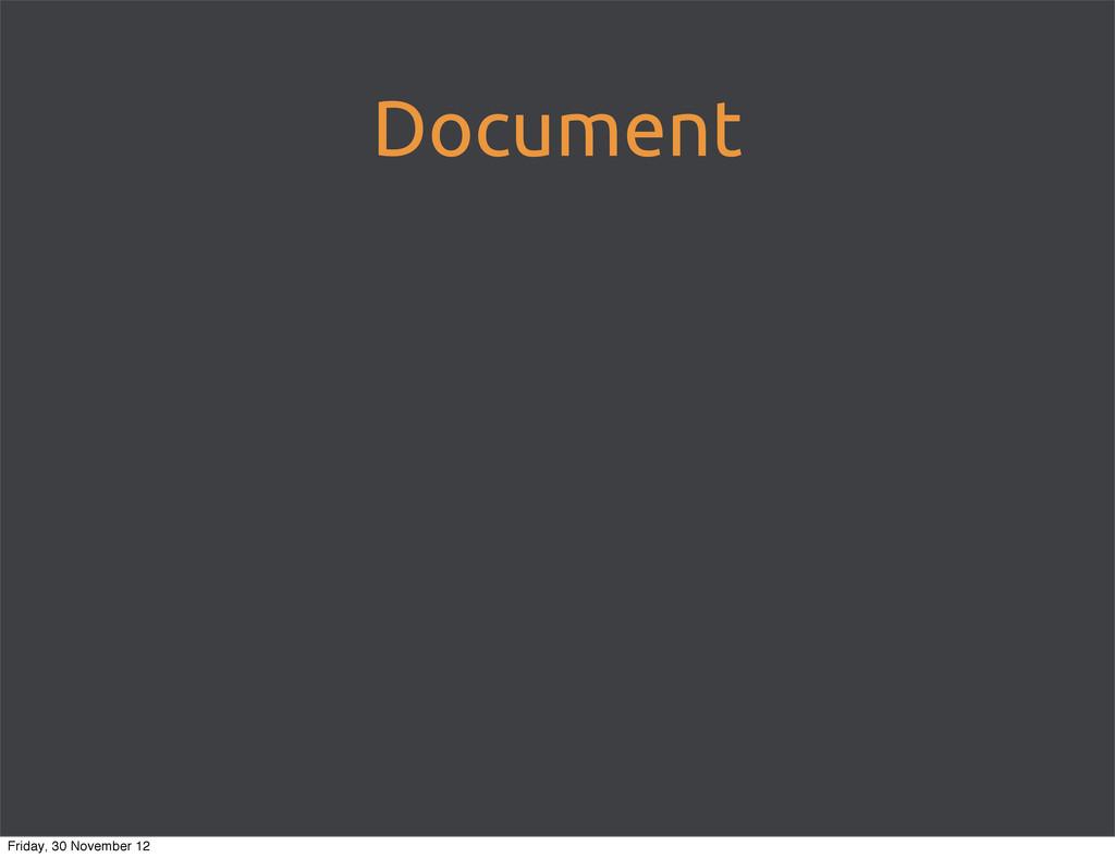 Document Friday, 30 November 12