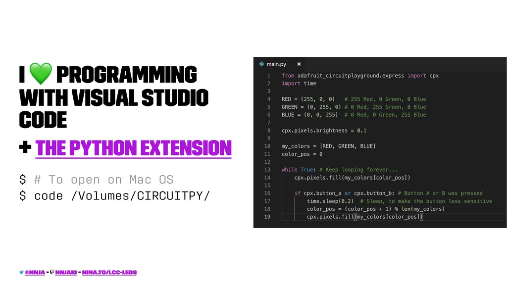 I ! Programming with Visual Studio Code + The P...