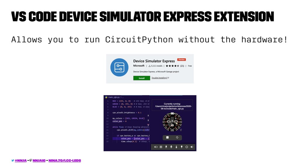 VS Code Device Simulator Express Extension Allo...