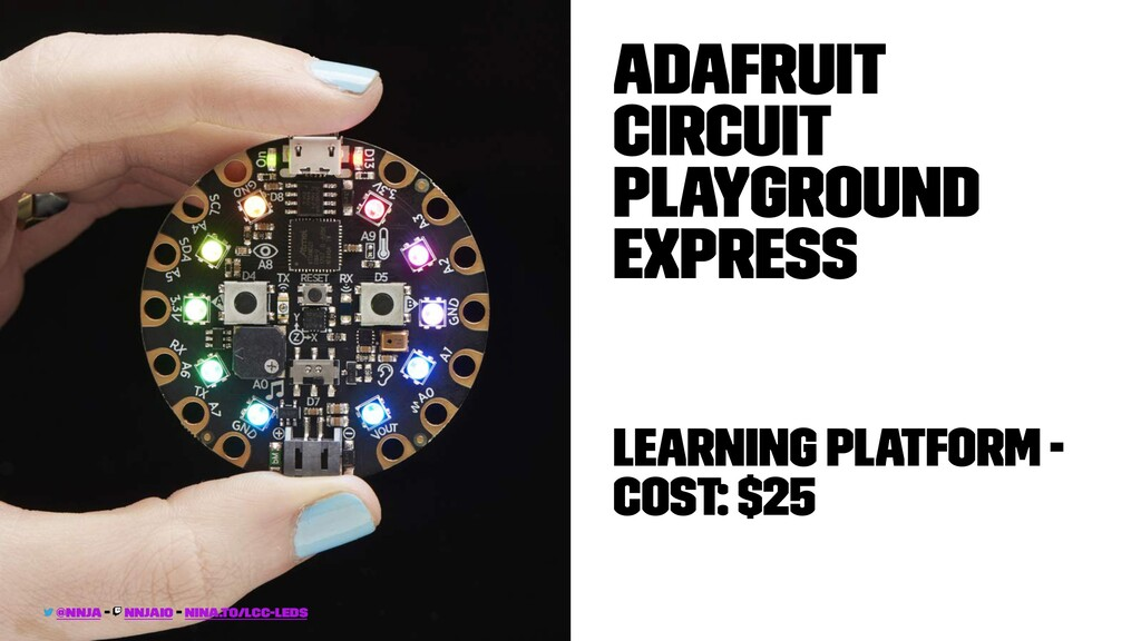 Adafruit Circuit PlayGround Express Learning Pl...