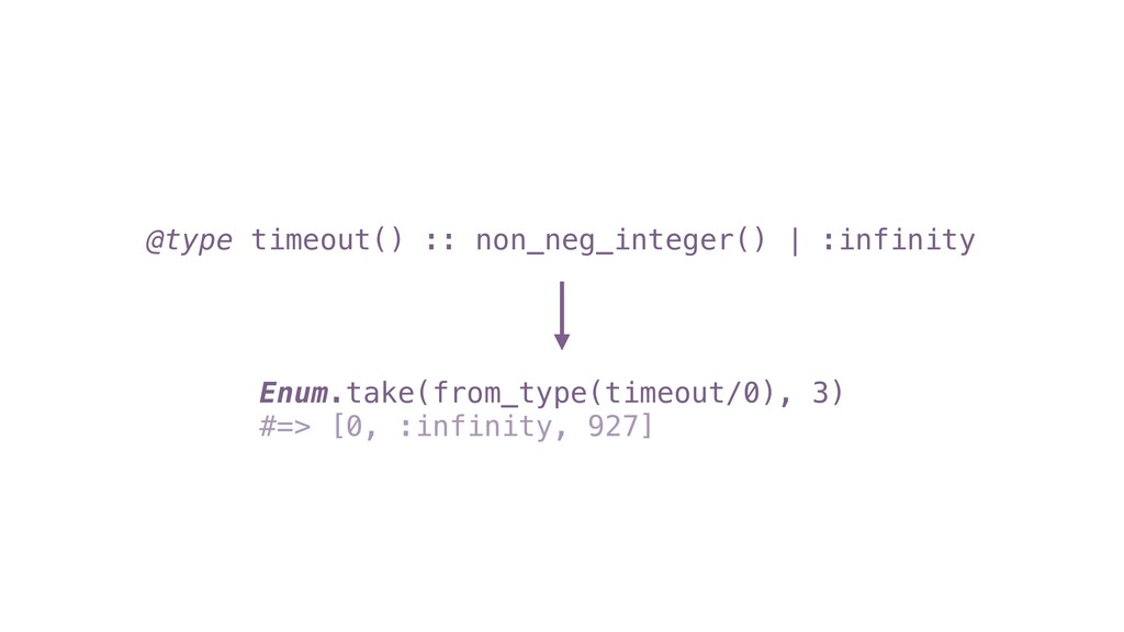 Enum.take(from_type(timeout/0), 3) #=> [0, :inf...