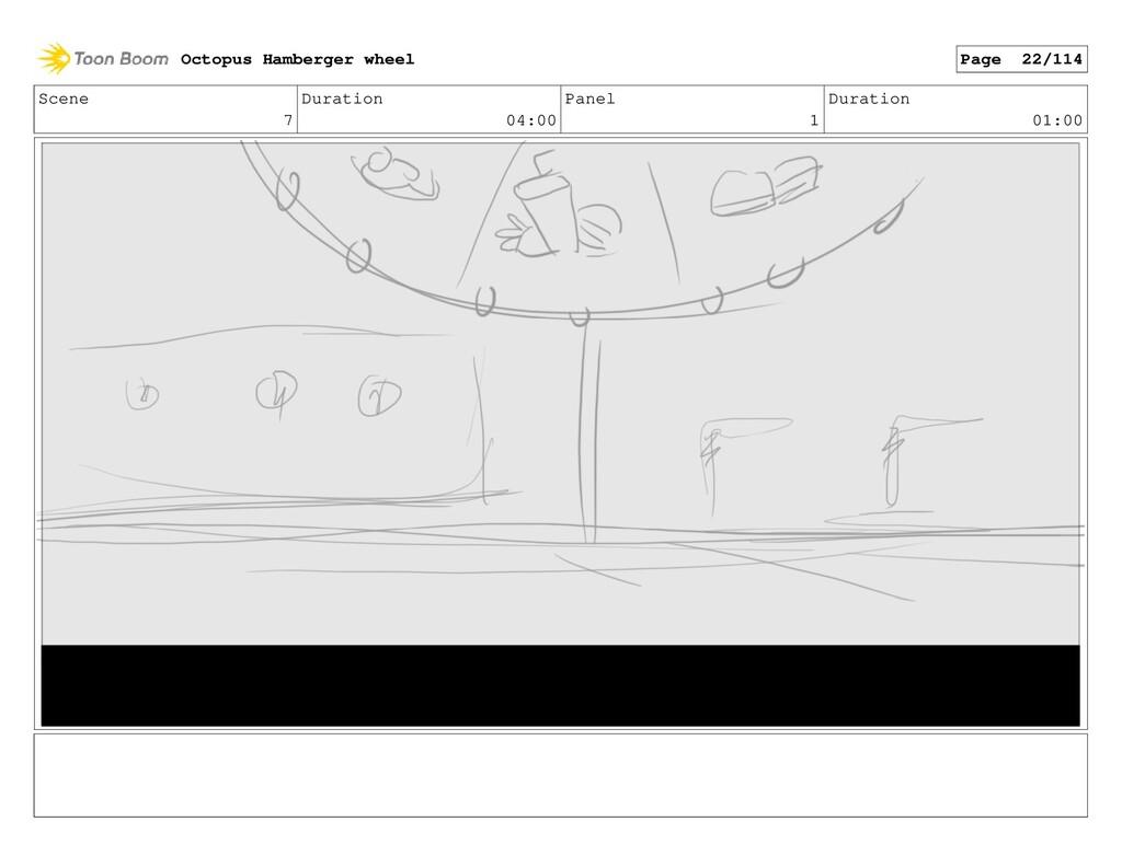 Scene 7 Duration 04:00 Panel 1 Duration 01:00 O...