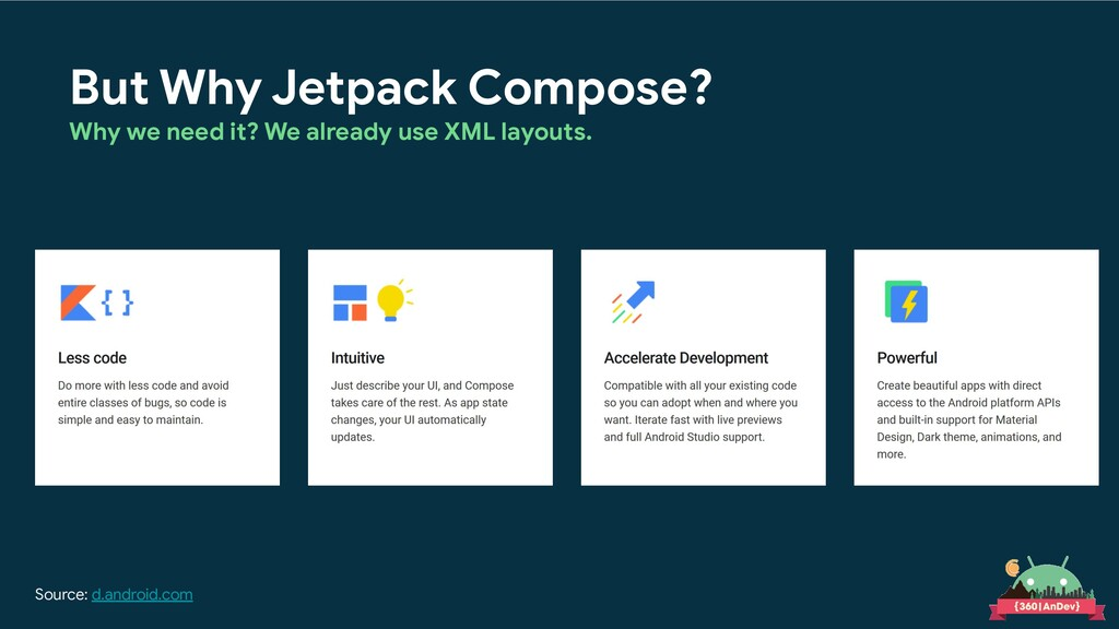 But Why Jetpack Compose? Why we need it? We alr...