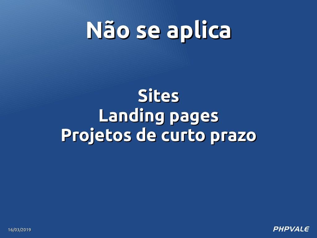 Sites Sites Landing pages Landing pages Projeto...