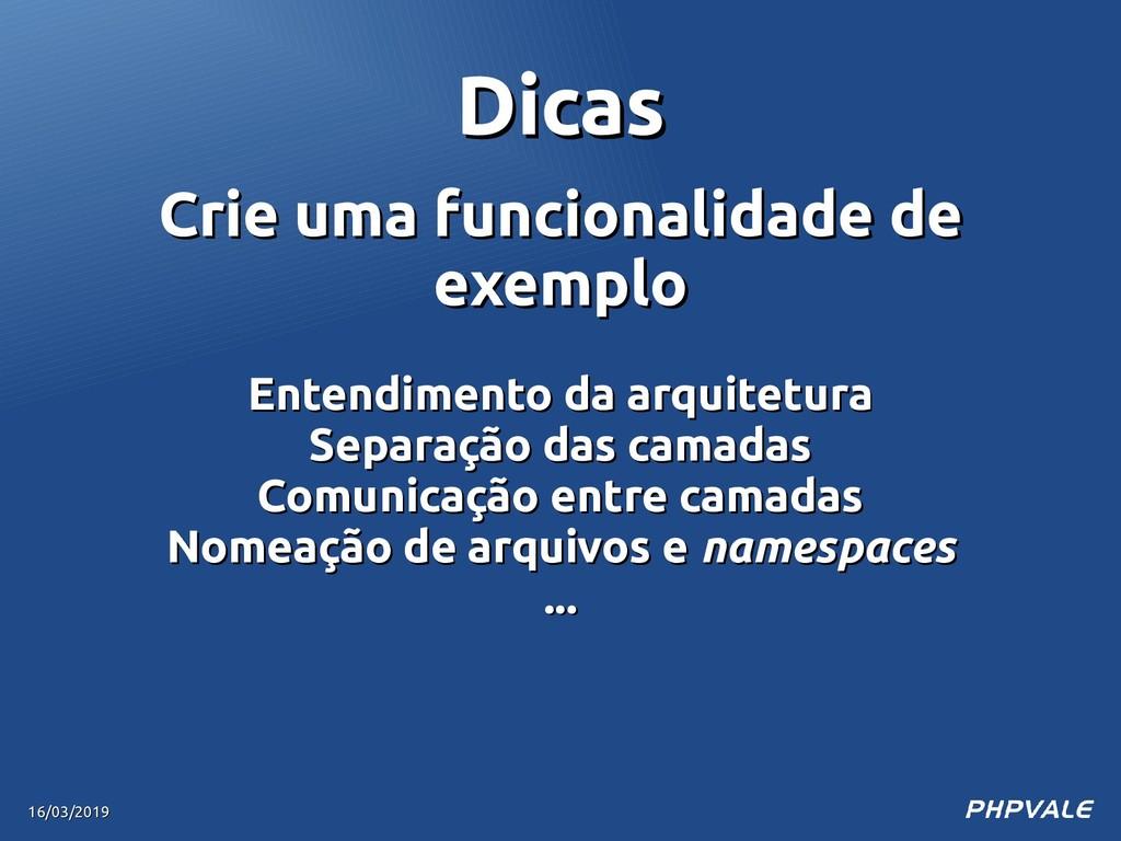 Crie uma funcionalidade de Crie uma funcionalid...