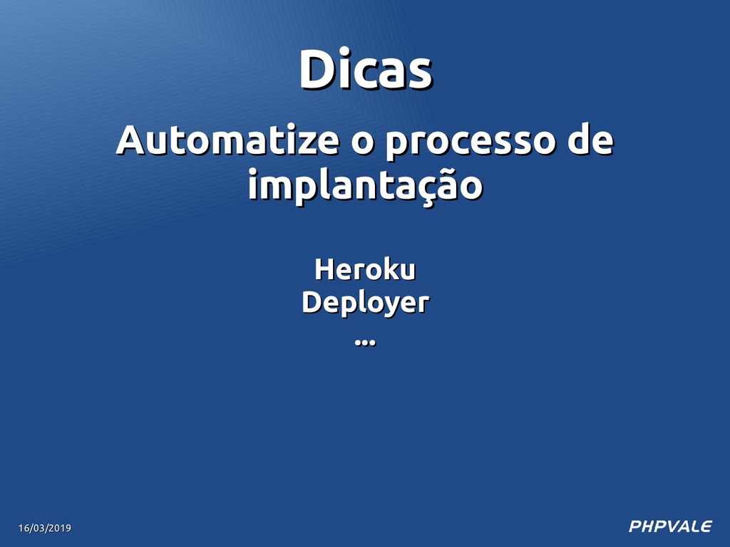 Automatize o processo de Automatize o processo ...