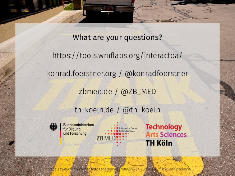 What are your questions? https://tools.wmflabs.o...