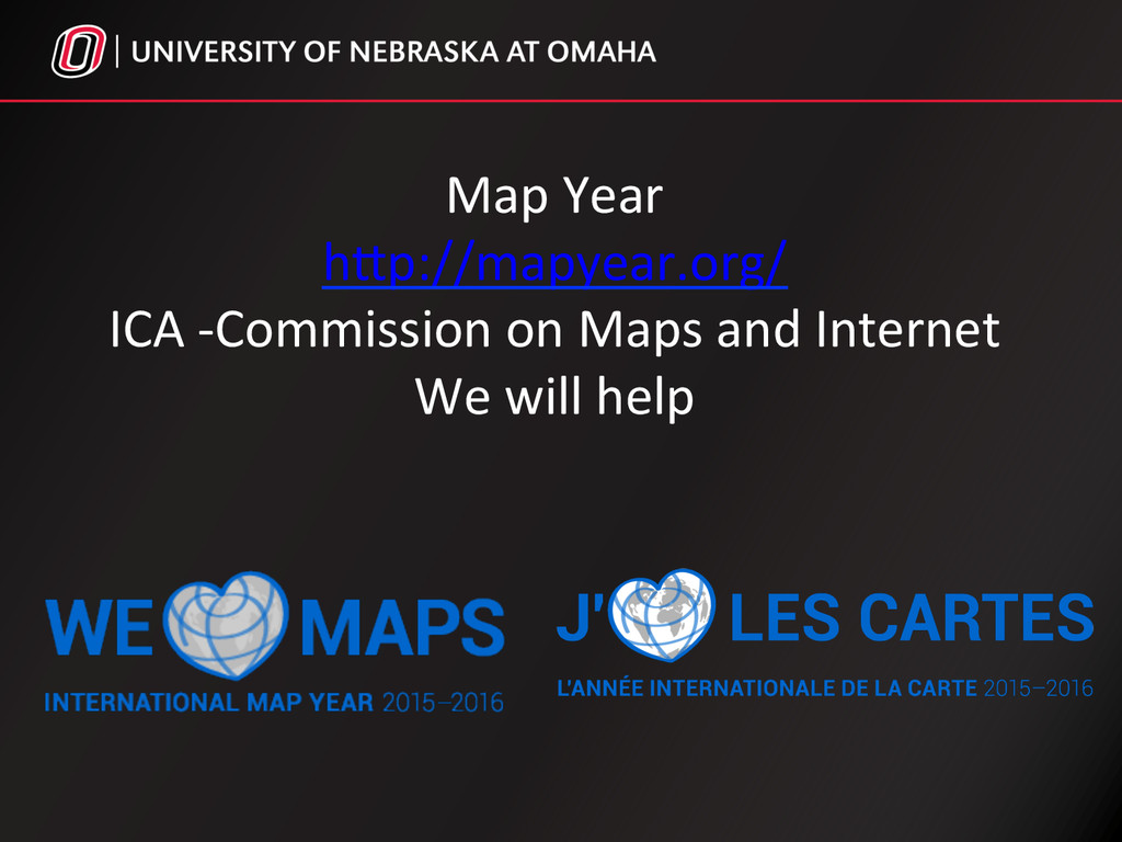 Map Year  hSp://mapyear.org/  ICA -...
