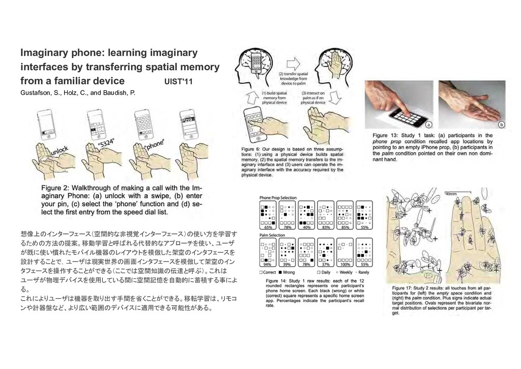Imaginary phone: learning imaginary interfaces ...