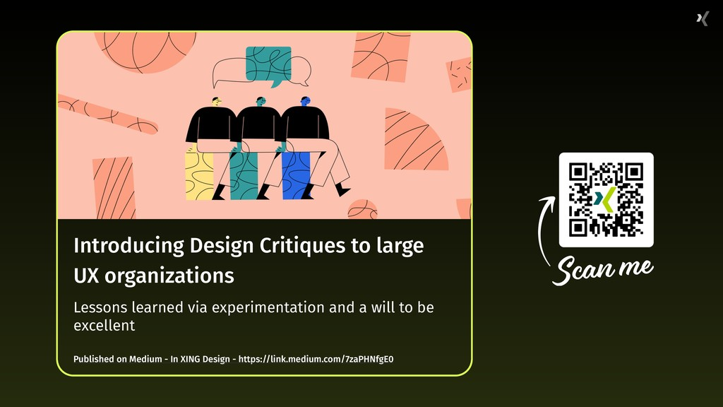 Introducing Design Critiques to large UX organi...
