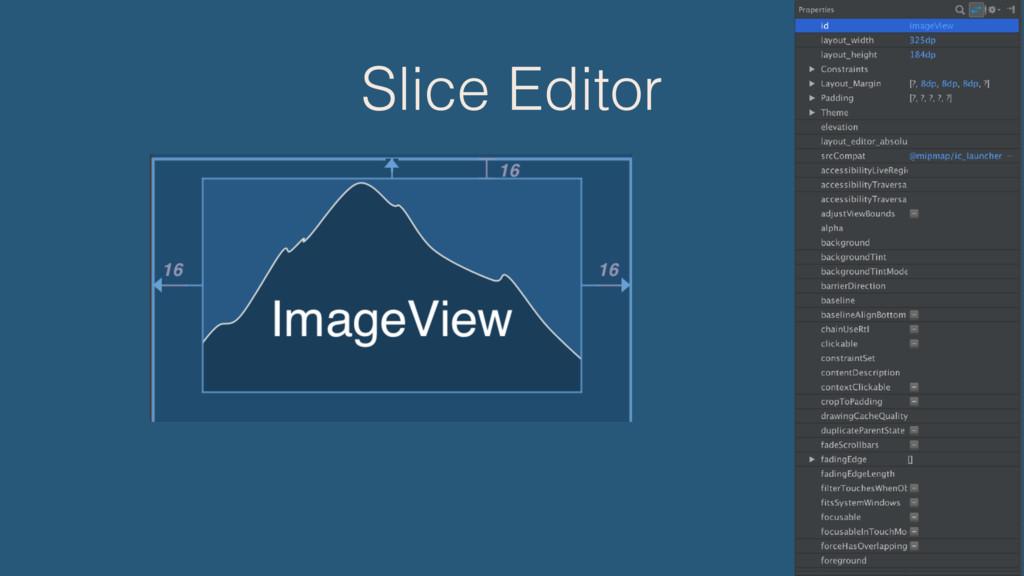 Slice Editor
