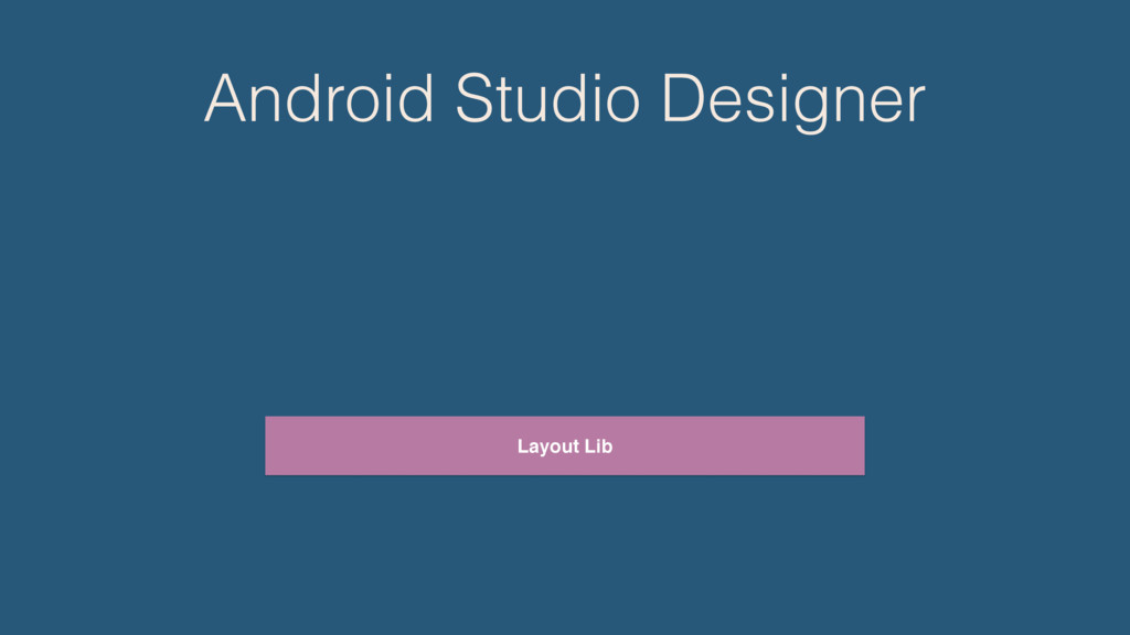 Android Studio Designer Layout Lib