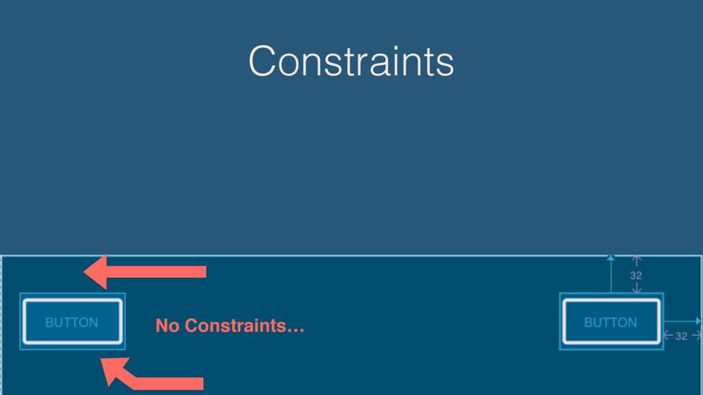 Constraints No Constraints…