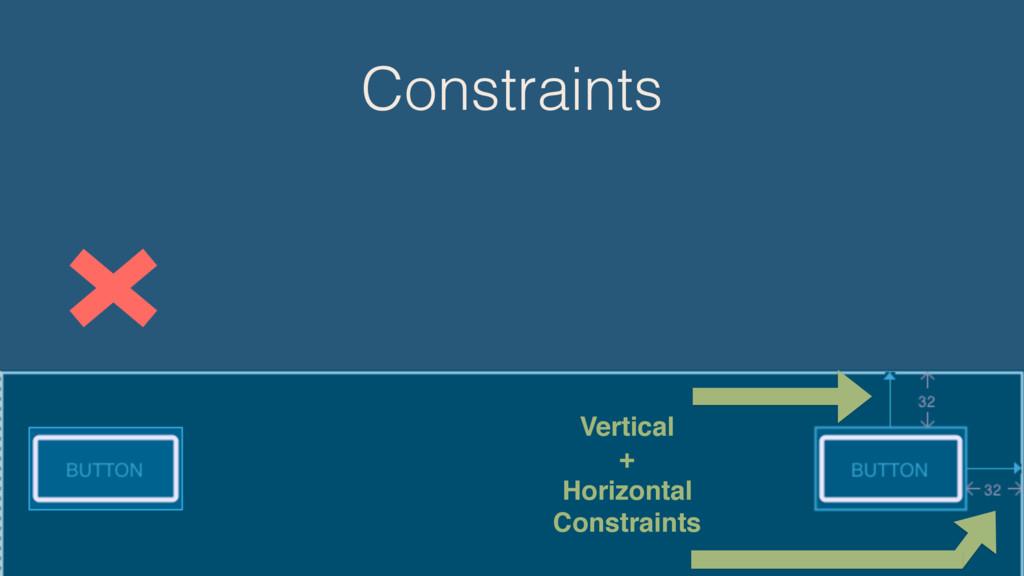 Constraints Vertical + Horizontal Constraints