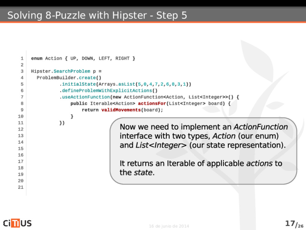 Solving 8-Puzzle with Hipster - Step 5 16 de ju...