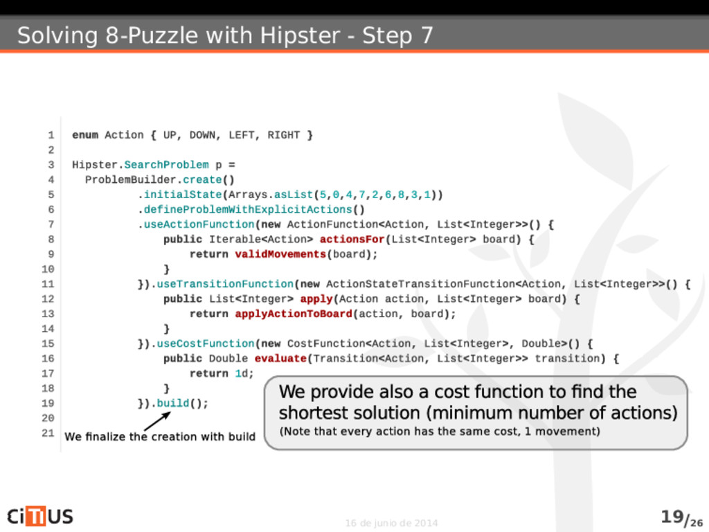 Solving 8-Puzzle with Hipster - Step 7 16 de ju...