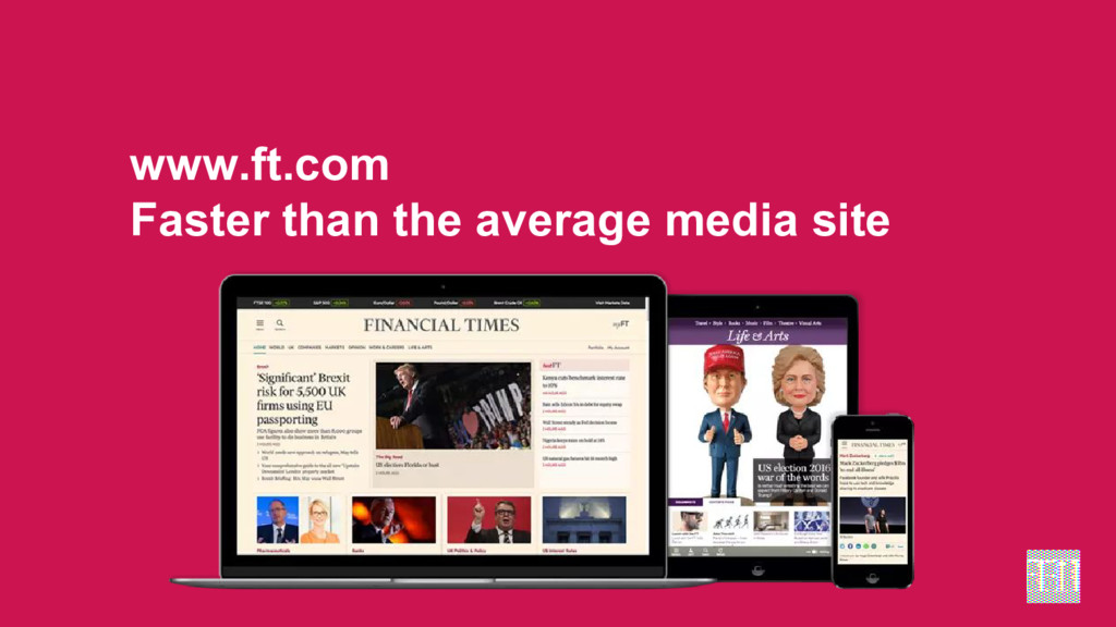 www.ft.com Faster than the average media site