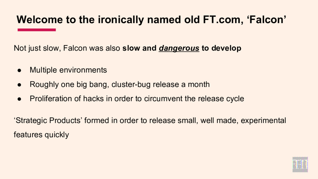 Welcome to the ironically named old FT.com, 'Fa...