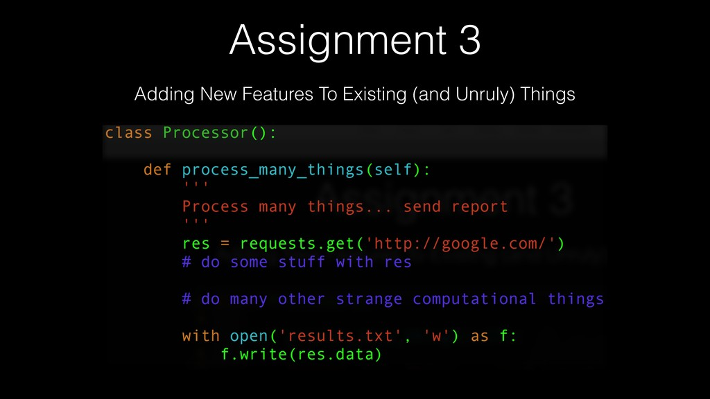 Assignment 3 Adding New Features To Existing (a...