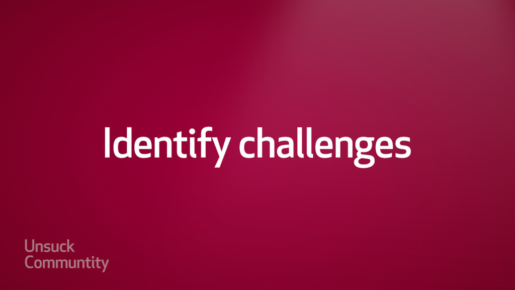 Identify technical challenges