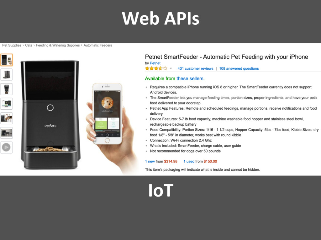 Web APIs IoT