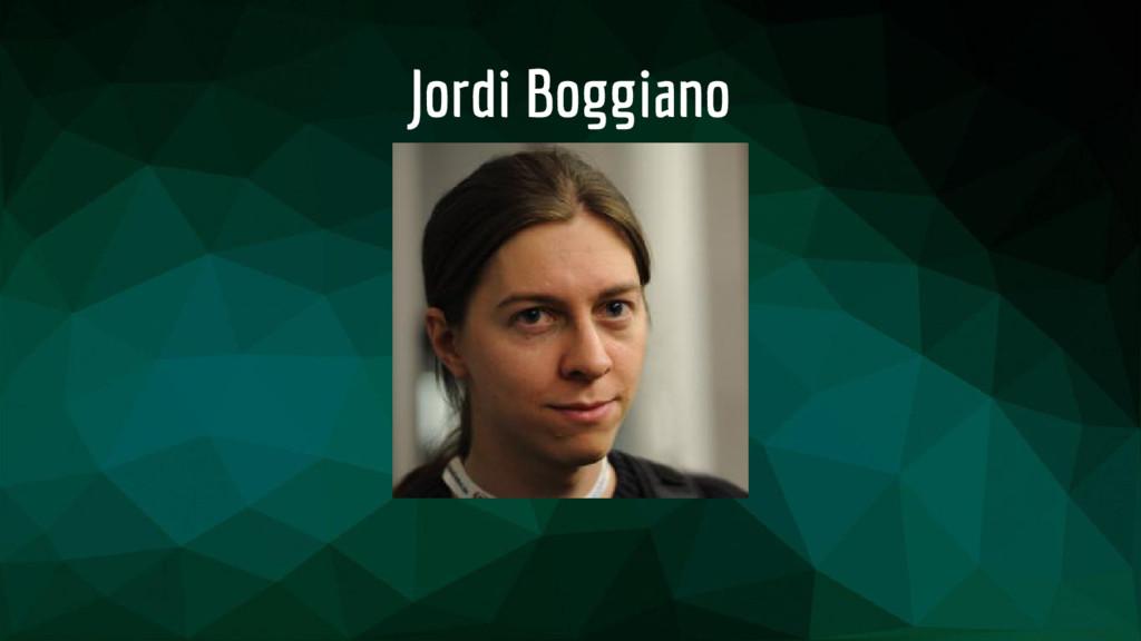 Jordi Boggiano