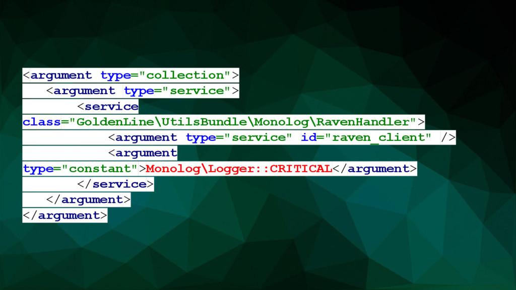 "<argument type=""collection""> <argument type=""se..."