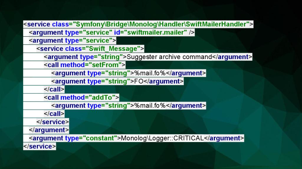 "<service class=""Symfony\Bridge\Monolog\Handler\..."