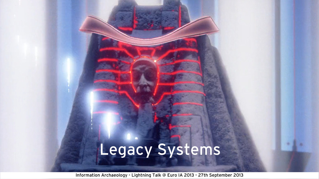 Legacy Systems Information Archaeology - Lightn...