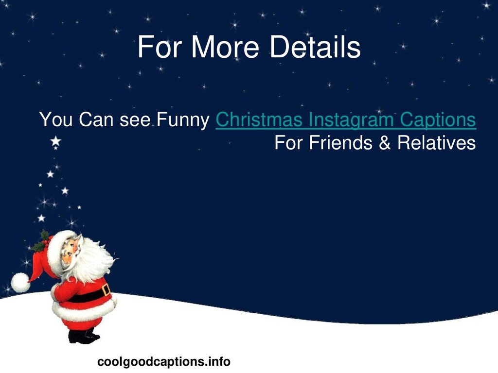 For More Details You Can see Funny Christmas In...