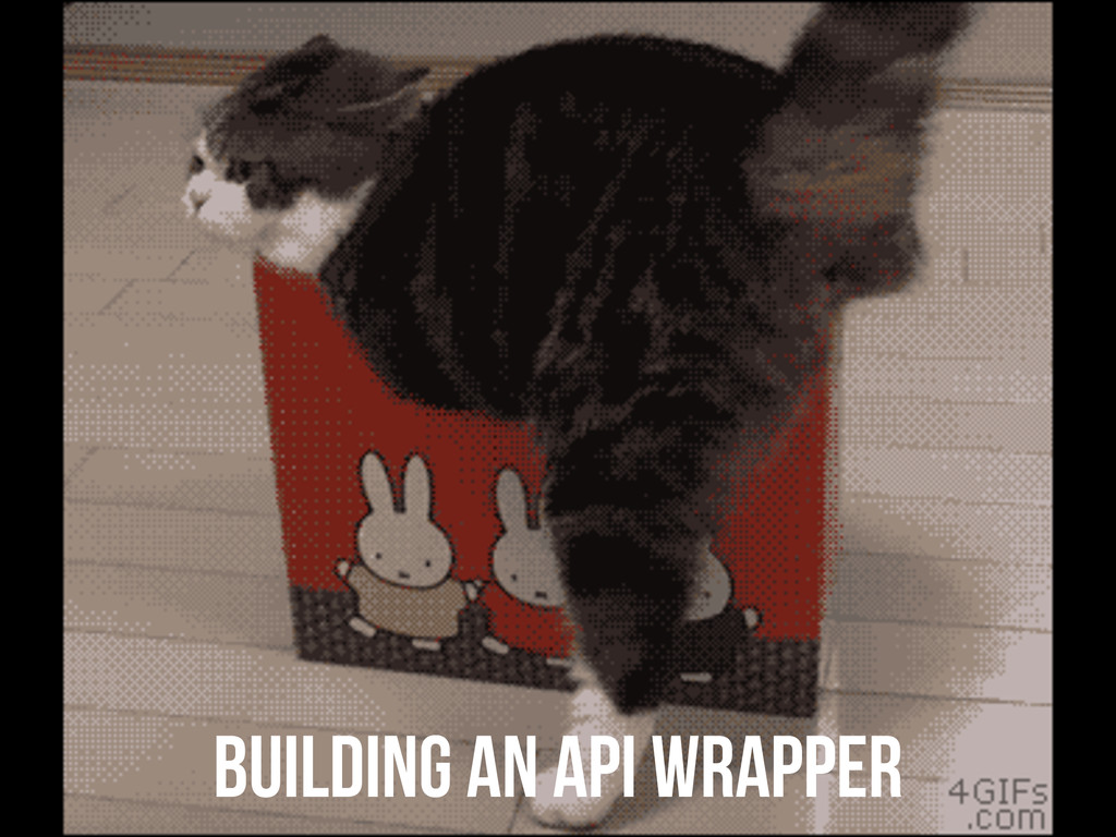 building an API wrapper