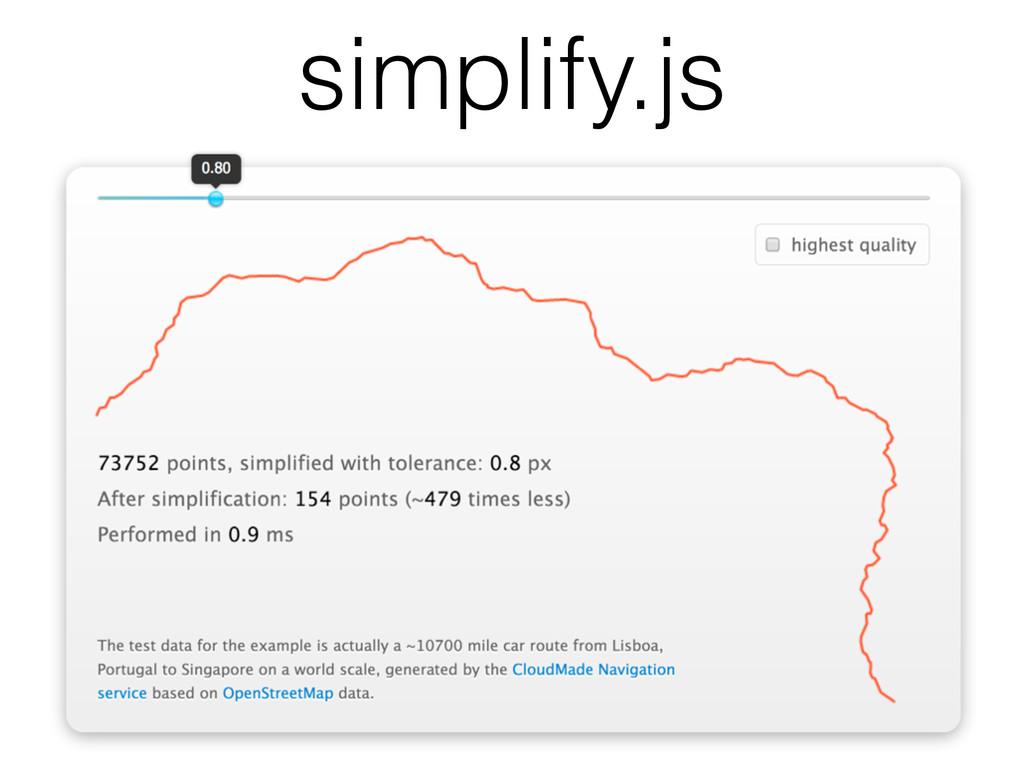 simplify.js