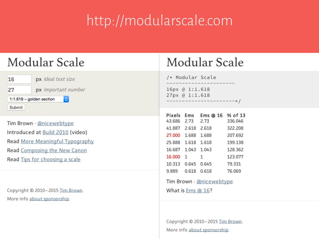 http://modularscale.com