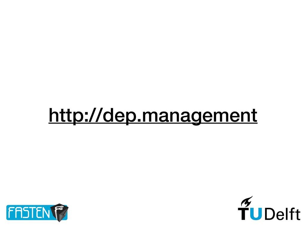 http://dep.management