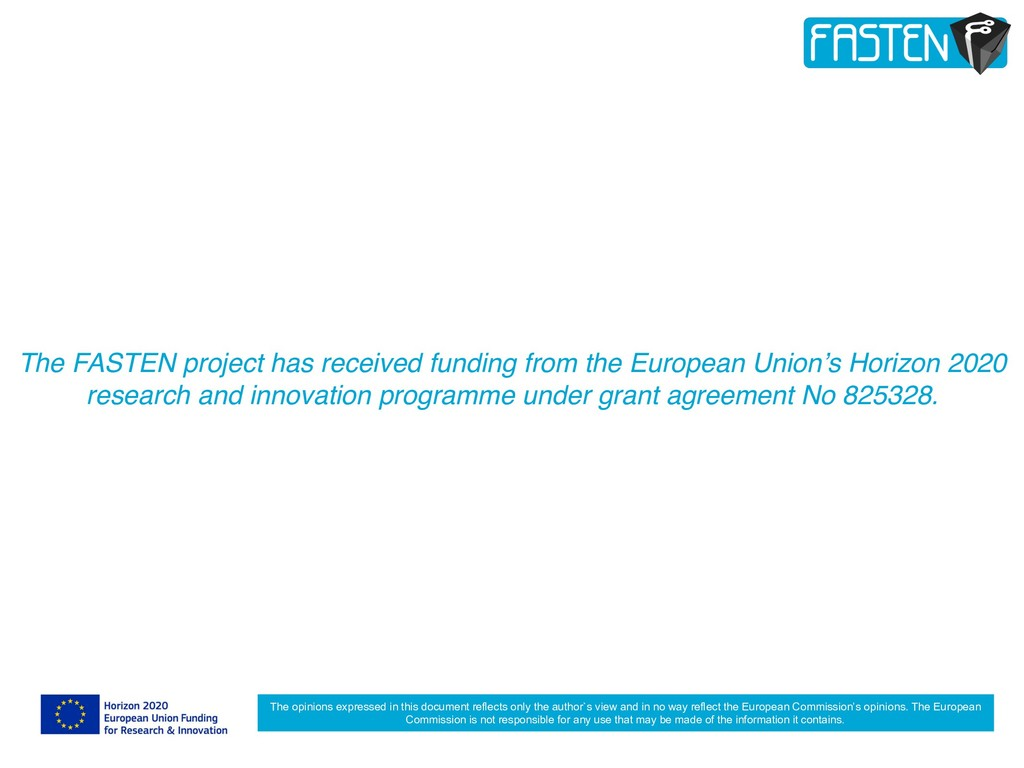 The FASTEN project has received funding from th...
