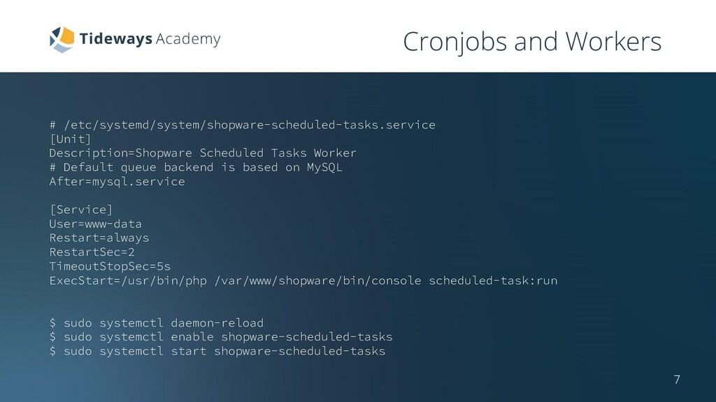 Cronjobs and Workers # /etc/systemd/system/shop...