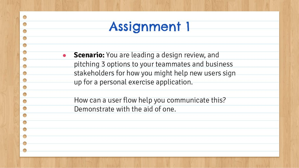 ● Scenario: You are leading a design review, an...