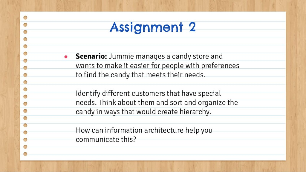 ● Scenario: Jummie manages a candy store and wa...